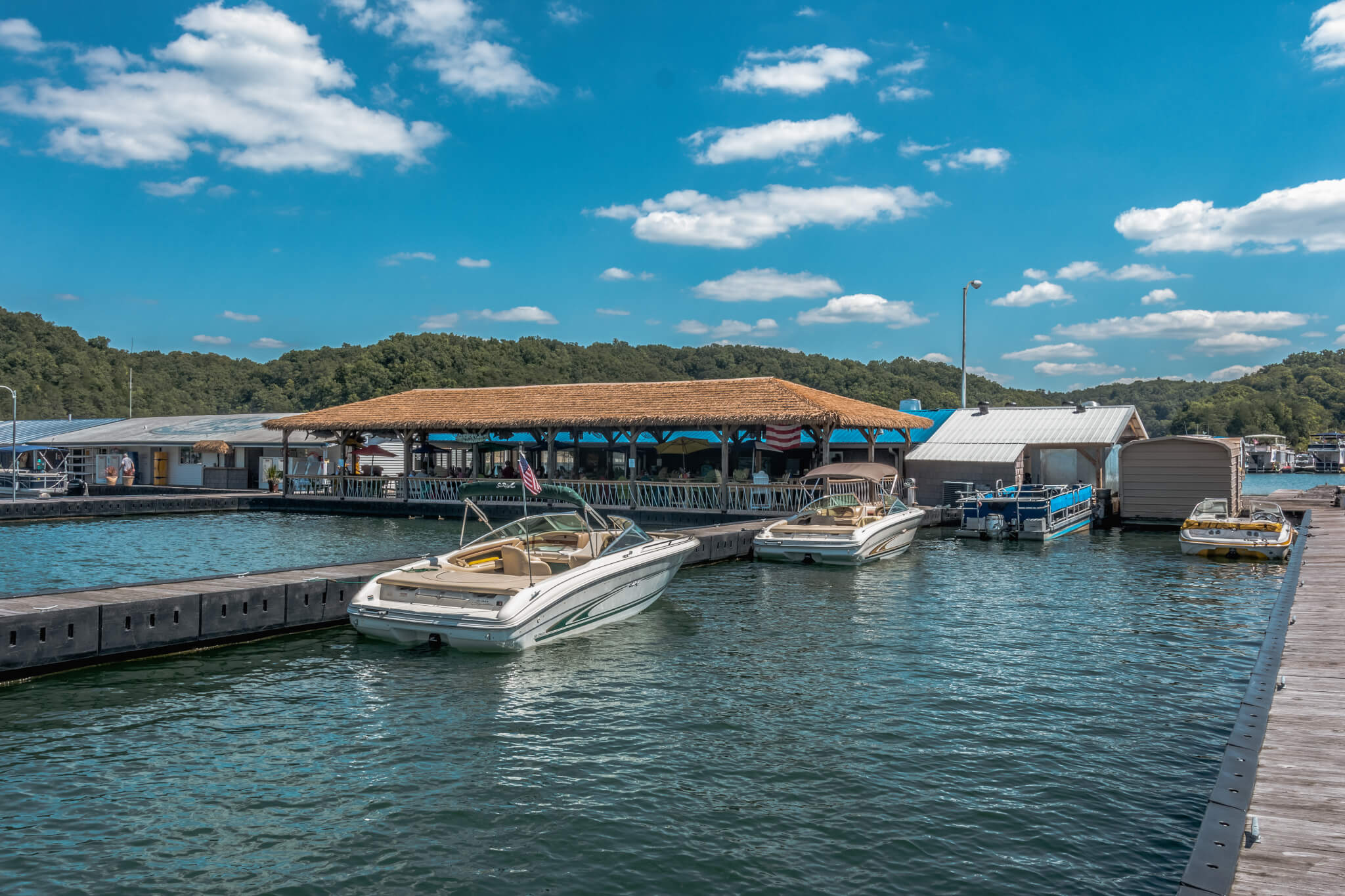Wolf Creek Marina | Boat Slips